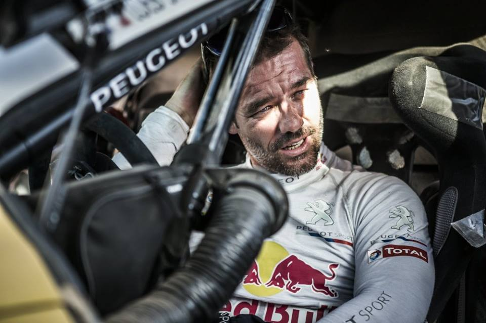 Sebastien Loeb Peugeot Sport Dakar 2